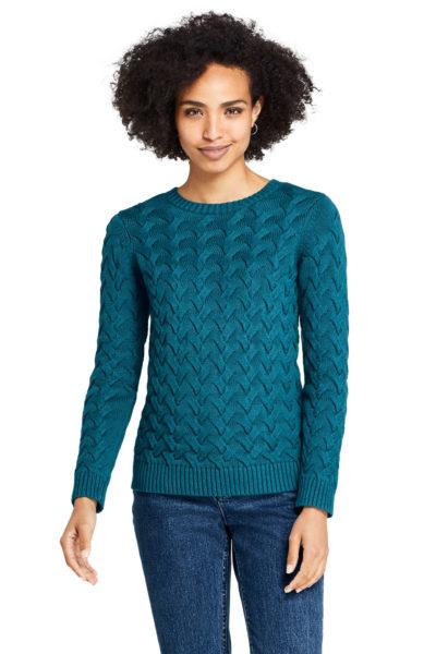Women's Drifter Cotton Crew Neck Sweater