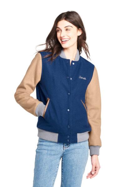 Women's Varsity Wool Jacket