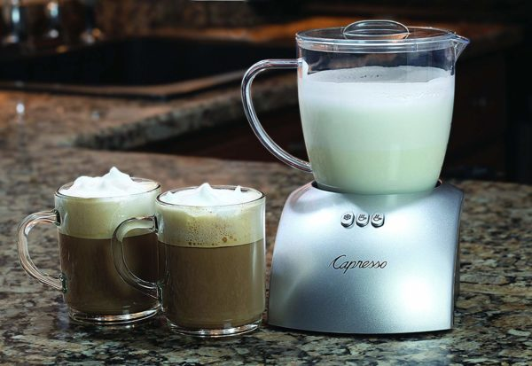 Capresso 204.04 frothPLUS Automatic Milk Frother and Hot Chocolate Maker
