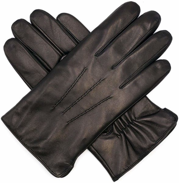 Mens Luxury Italian Sheepskin Leather Gloves