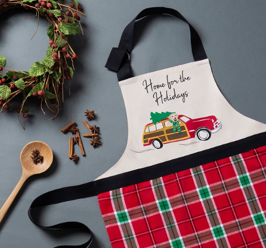 Home for the Holidays Kitchen Apron
