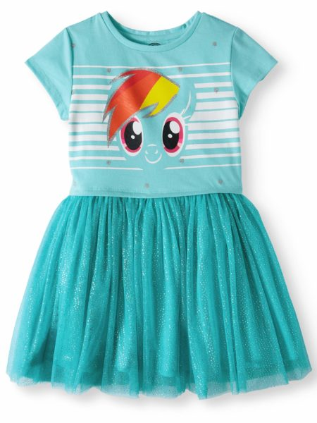 My Little Pony Foil Mesh Dress (Little Girls and Big Girls)