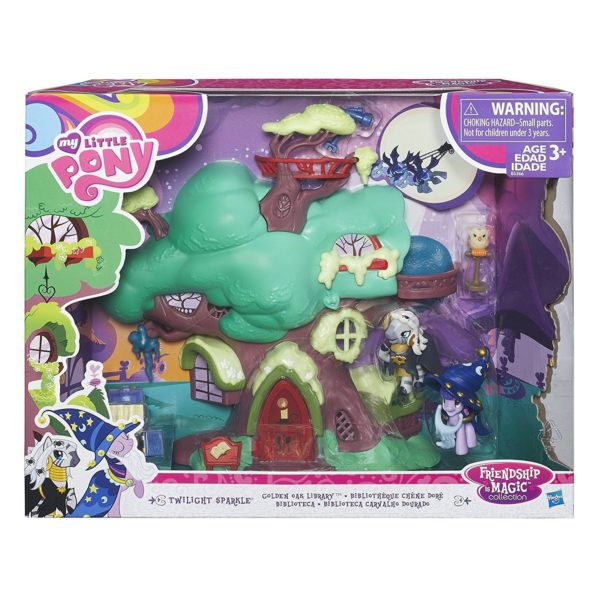 My Little Pony Friendship Is Magic Collection Golden Oak Library Play Set