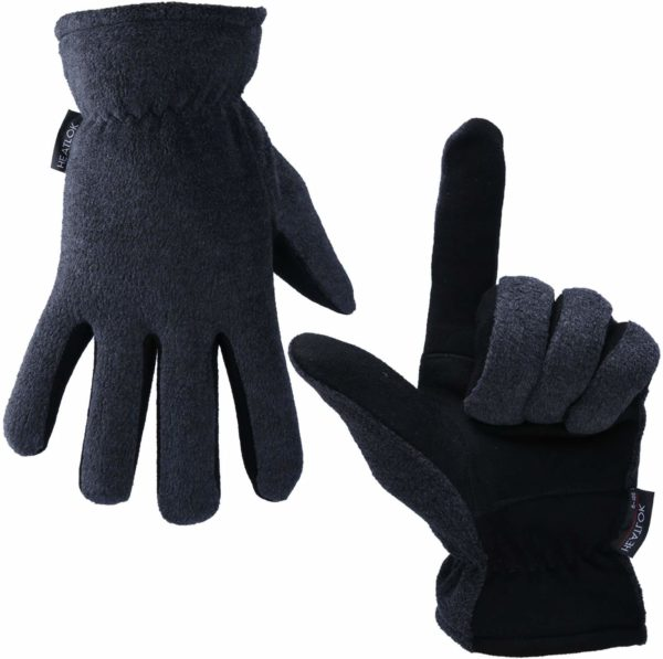 OZERO Winter Gloves, -20°F(-29℃) Cold Proof Thermal Work Glove