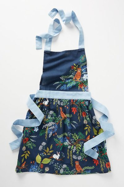 Rifle Paper Co. for Anthropologie Winter Floral Apron