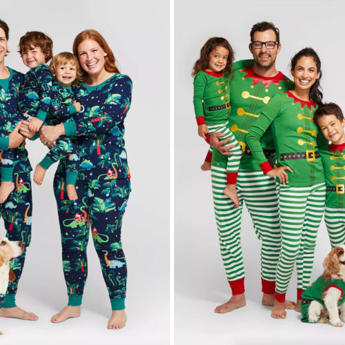 Matching Holiday Pajamas For The Whole Family are Back (and Cuter Than Ever)