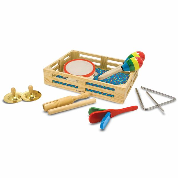 Melissa & Doug Band-in-a-Box Clap! Clang! Tap!
