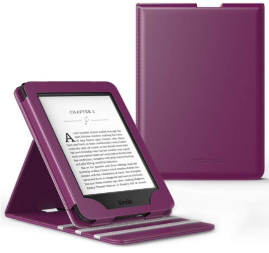 MoKo Case for Kindle Paperwhite, Premium Vertical Flip Cover with Auto Wake