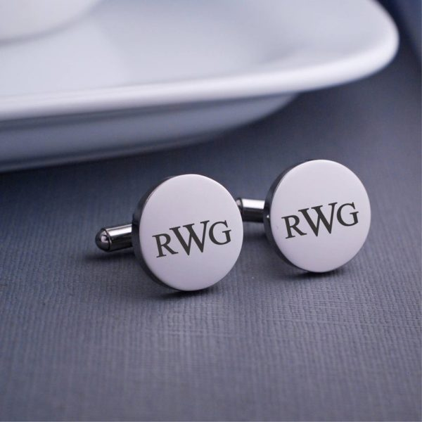 Monogram Cuff Links, Personalized