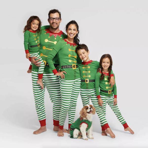 Holiday Elf Family Pajamas