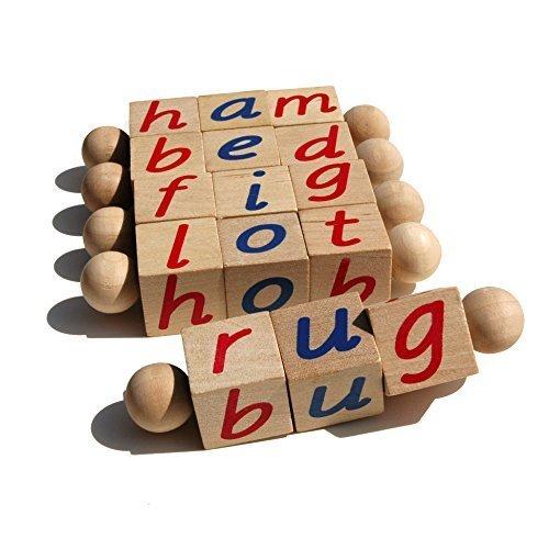 The Original Montessori Phonetic Reading Blocks