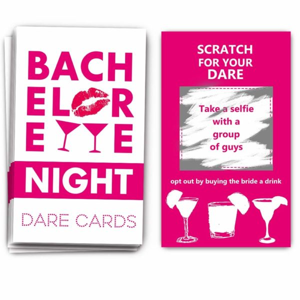 Bachelorette Scratch Off Cards