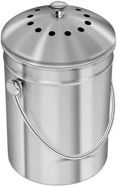 Stainless Steel Compost Bin