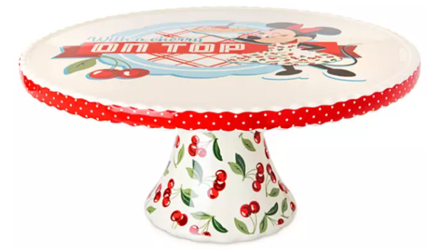 Minnie Mouse Retro Cake Stand