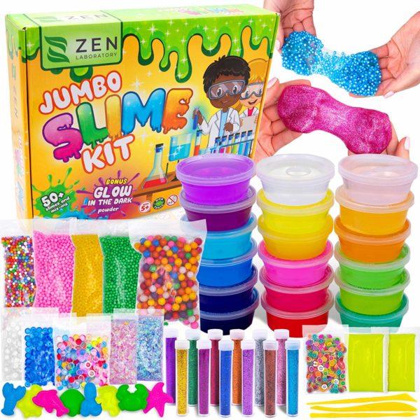 Zen Labratory Jumbo Slime Kit