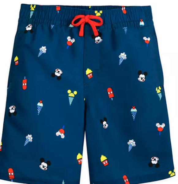 Mickey Mouse Summer Fun Swim Trunks for Boys
