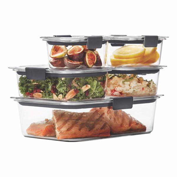 Rubbermaid Brilliance Leak-Proof Food Storage Containers
