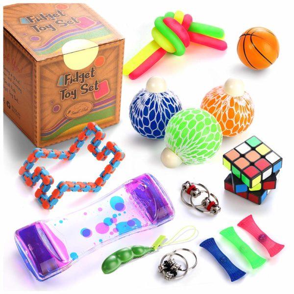 Sensory Fidget Toys Set, 22 Pcs