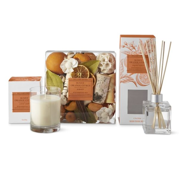 Williams Sonoma Sunny Orange Citrus Home Set