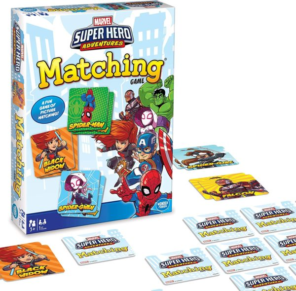 Marvel Super Hero Matching Game