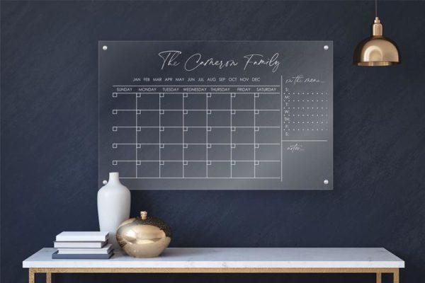Personlized Acrylic Calendar