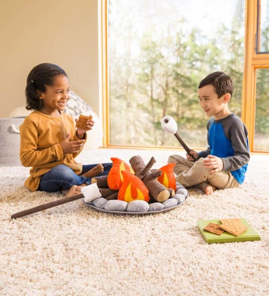 Plush Campfire Play Set