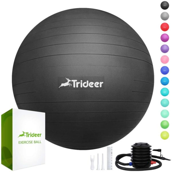 Trideer Extra Thick Yoga Ball