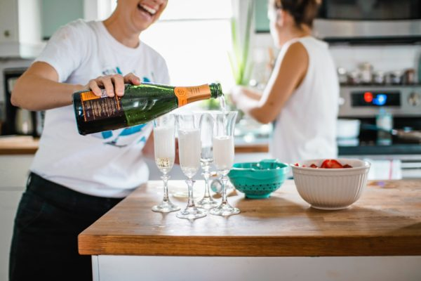 Get Champagne Delivered w/ Drizly