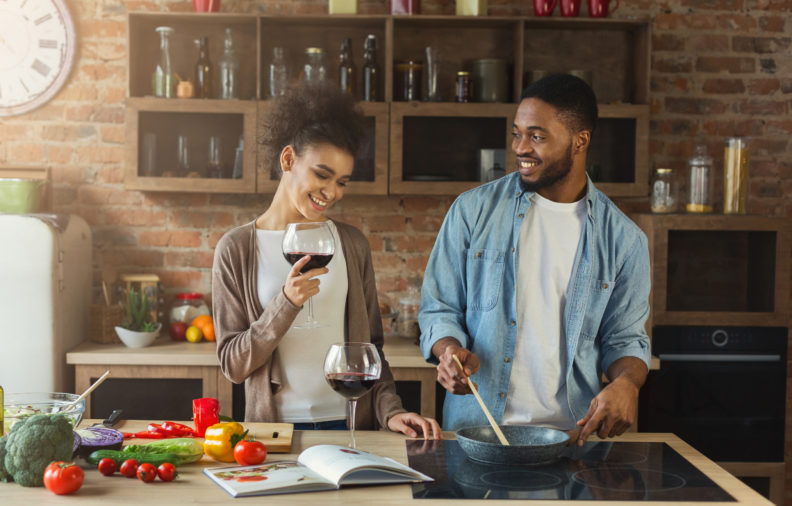 Here's the Perfect Recipe for Creating a Romantic Dinner Date at Home