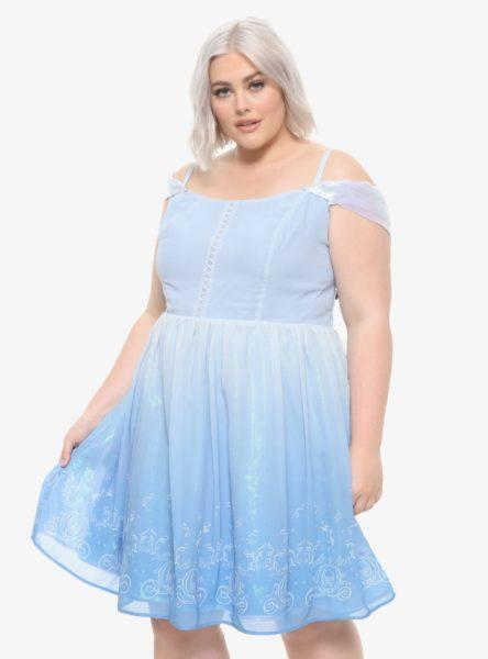 Disney Cinderella Cold Shoulder Dress