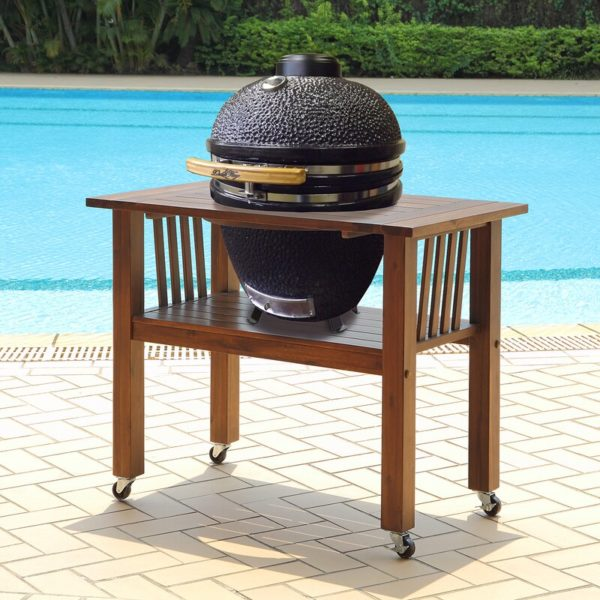 Kamado Charcoal Grill with Table