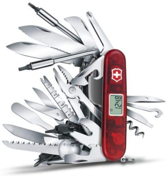 Swiss Army Swisschamp Knife