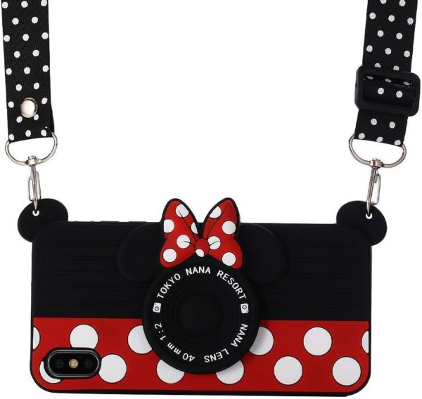 Cartoon Minnie Mouse Camera Design Case