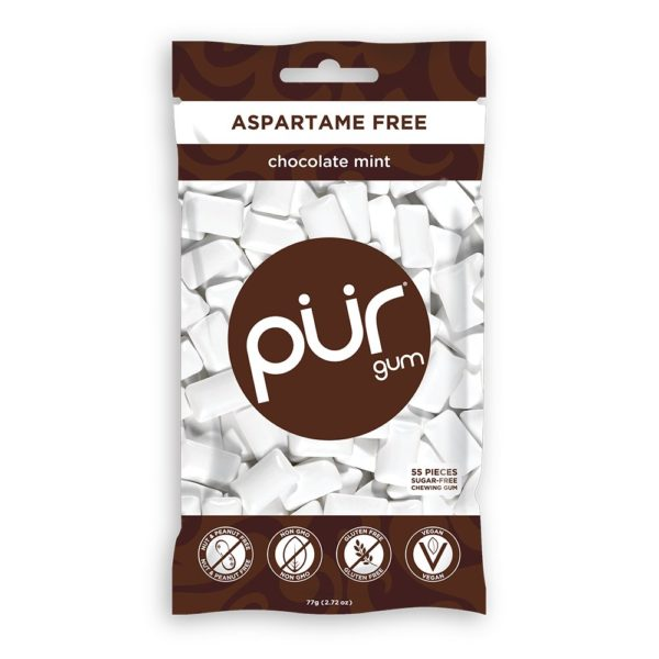 PUR Chocolate Mint Gum