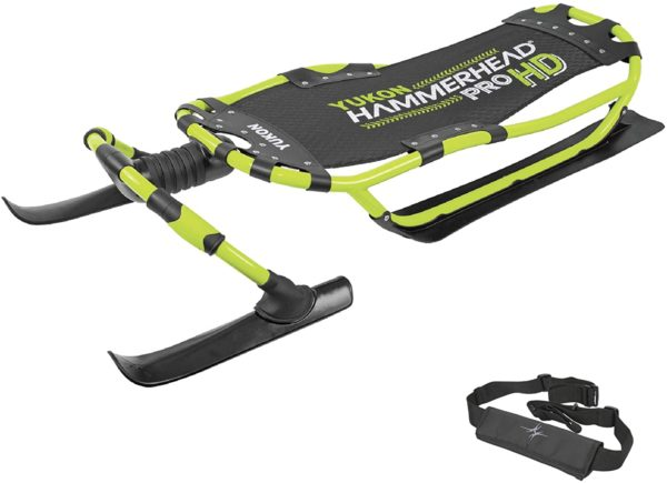 Yukon Hammerhead Pro HD Steerable Snow Sled