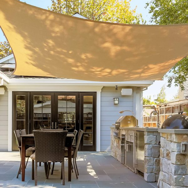 UV Blocking Patio Cover, Outdoor Sunshade Canopy