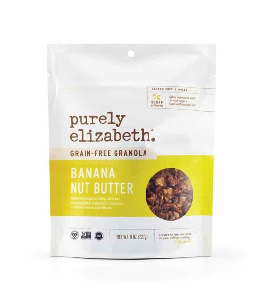Grain Free Banana Nut Butter Granola