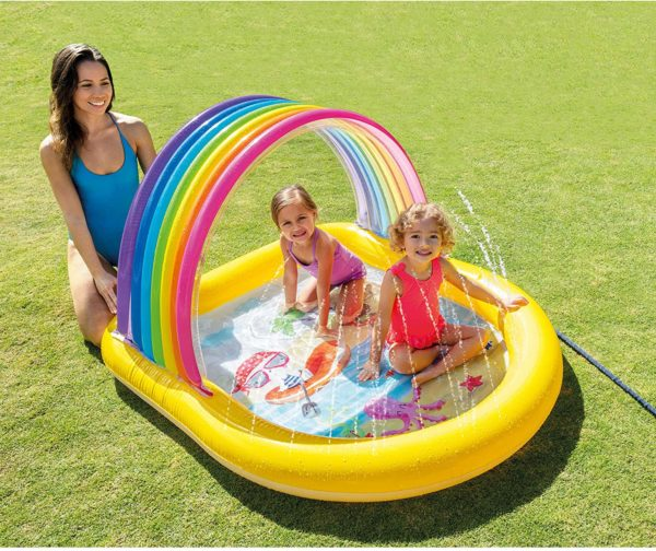 Intex Rainbow Arch Spray Pool