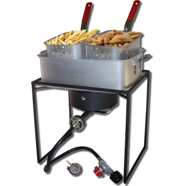 King Kooker 1 Burner Propane Pot Deep Fryer Outdoor Stove