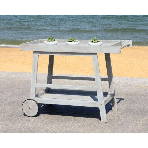 Hugo Indoor/Outdoor Bar Serving Cart