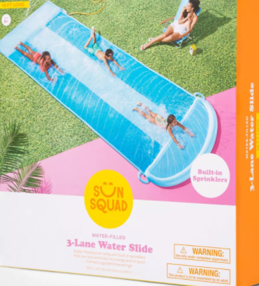 Triple Water Slide - Sun Squad™