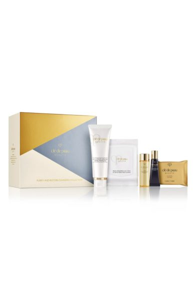 Cle de Peau Purify & Restore Cleansing Set