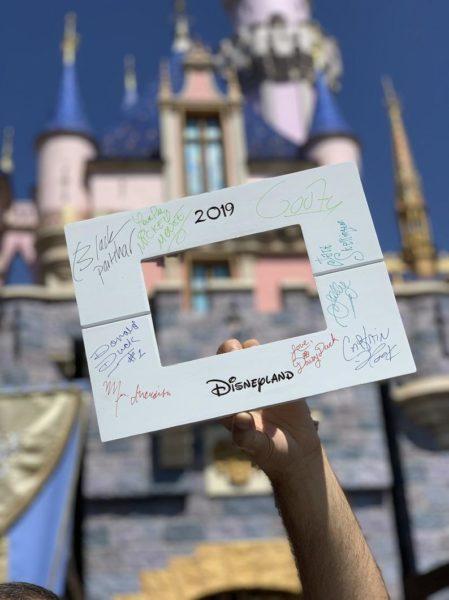 Autograph Picture Frame, Disney trip frame