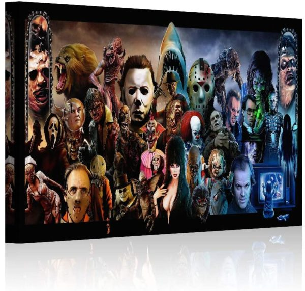 Horror Movies Oil Painting on Canvas Posters
