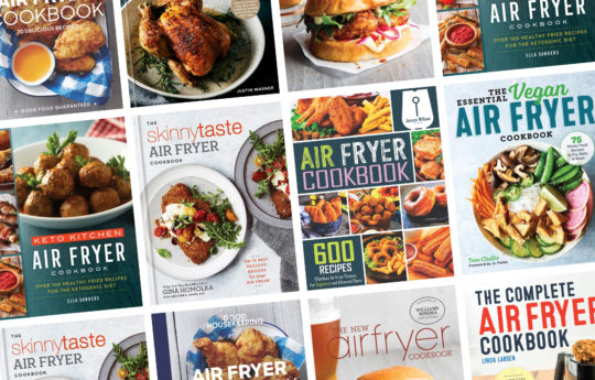 14 Air Fryer Cookbooks if You're Ready for the Next Level
