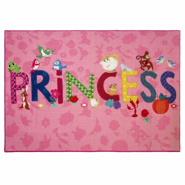 Disney Princess Icons Rug