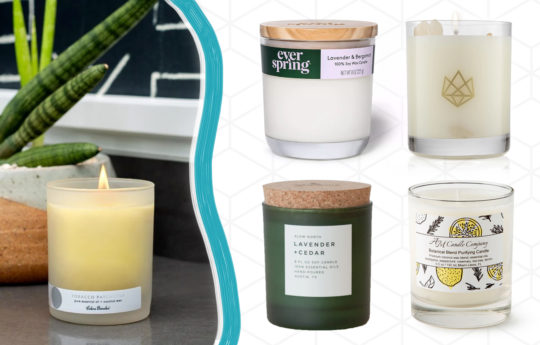 10 Less-Toxic Candles for A Calming Space