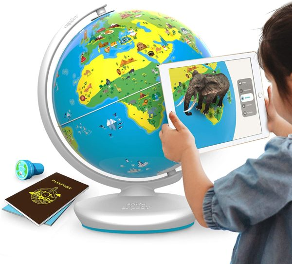 Orboot (App Based): Augmented Reality Interactive Globe For Kids