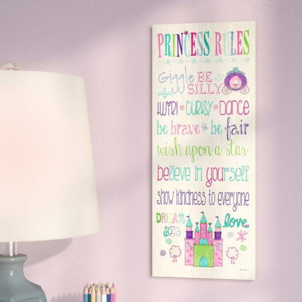 Princess Rules Signs
