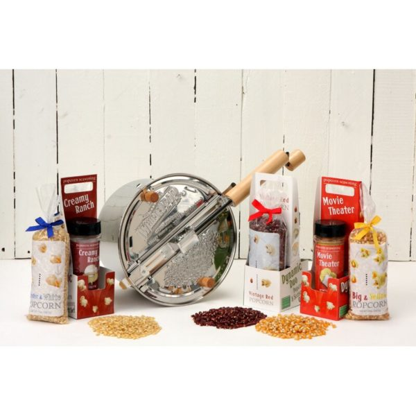 Wabash Valley Farms Whirley Popper Set